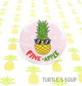 Turtle's soup Fine Apple Pin