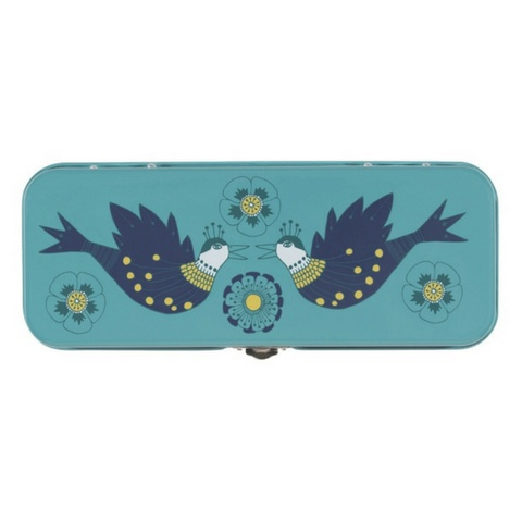 Now Designs Pencil Box, Birdland