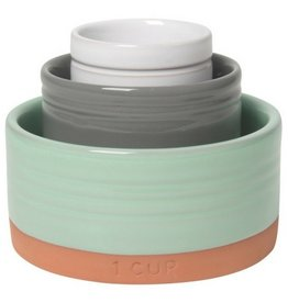 Now Designs Nesting Prep Bowls, Terracotta Sky