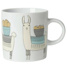 Now Designs Llamarama Short Mug