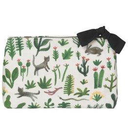 Now Designs Secret Garden Cosmetic Bag, Sm