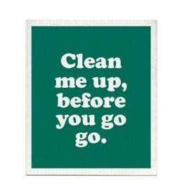 Boldfaced Clean Me Up Dishcloth