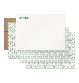 Page Stationery Hey There Note Set