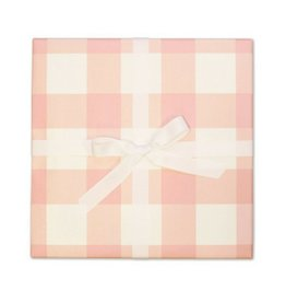 Page Stationery Flamingo Gingham Gift Wrap