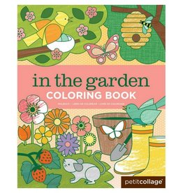 Petit Collage In the Garden Coloring Book