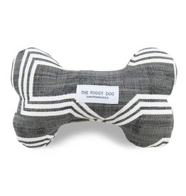 The Foggy Dog Gray Geometric Dog Toy