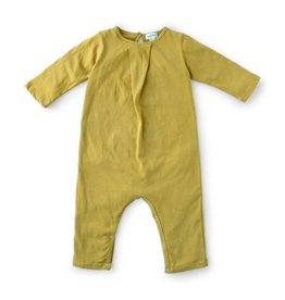 Hazel Village Bracken Green Romper, 0-6M