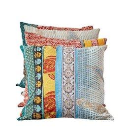 Creative Co-op Kantha Pillow