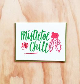 Bench Pressed Mistletoe and Chill