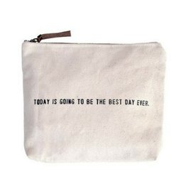 SugarBoo Designs Canvas Bag: Today is Best Day