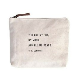 SugarBoo Designs Canvas Bag: You Are My Sun