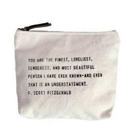 SugarBoo Designs Canvas Bag: You Are The Finest