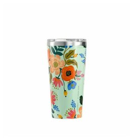 Rifle Paper Lively Floral Mint Tumbler