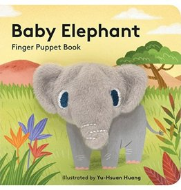 Hachette Book Group Baby Elephant Finger Puppet Book