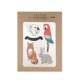 Hartland Brooklyn Temp Tattoos: Pet Pack