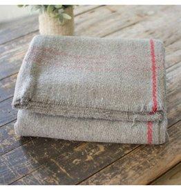 Kalalou Wool Blanket - Gray