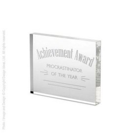Design Ideas Procrastinator Award