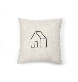 Gray Green Goods Home Linen Pillow