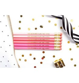 Taylor Elliott She Designed a Life Pencils