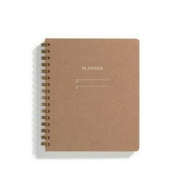 Iron Curtain Press Planner - Kraft
