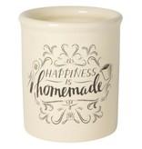 Now Designs Homemade Happiness Utensil Crock