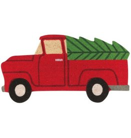 Now Designs Holiday Truck Doormat
