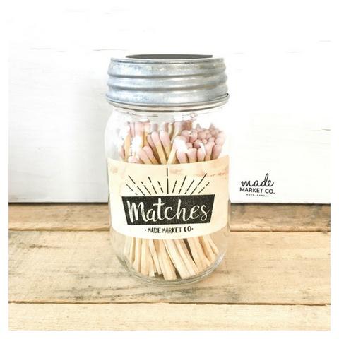 Made Market Matches - Blush