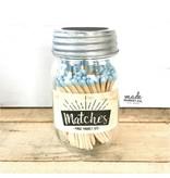 Made Market Matches - Powder Blue