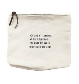 SugarBoo Designs Canvas Bag: You Are My Sunshine