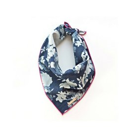 The Foggy Dog Denim Roses Dog Bandana