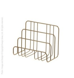 Design Ideas Brass Letter Sorter