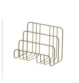 Design Ideas Brass Letter Sorter