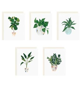 Our Heiday House Plant Card Set