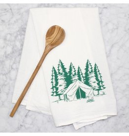 Counter Couture Camping Tea Towel