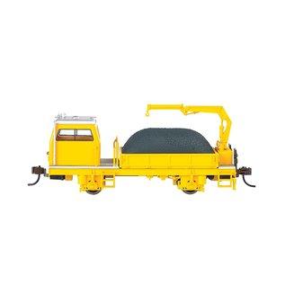 Bachmann Bac  MoW Ballast Vehical w/Crane  DCC   87902