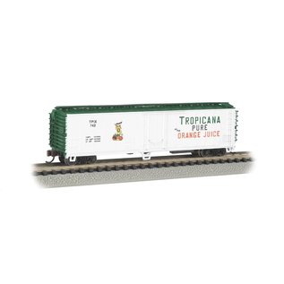 Bachmann Bac  50' Steel Reefer Tropicana (white)    17954