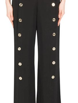 Joseph Ribkoff Gold Button Pant