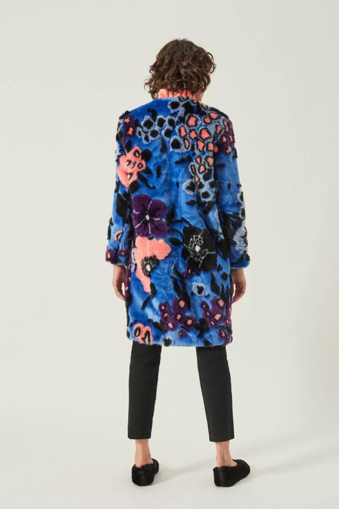 Manoush Fleur Fur Coat