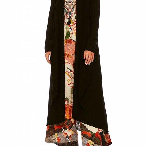 Camilla Long Casual Jacket W/ Pockets