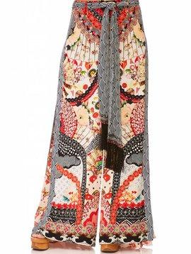 Camilla High Waisted Trouser W/ Godet