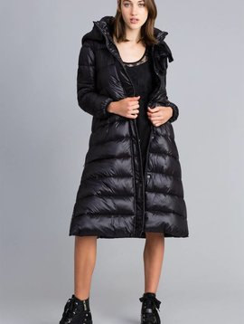 TwinSet Woven Down Jacket