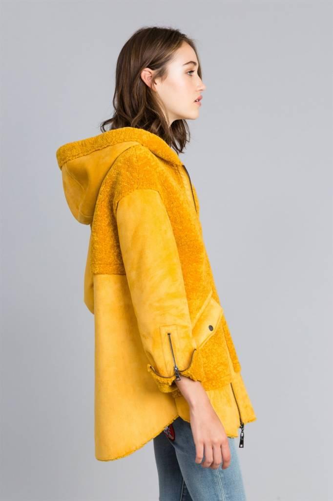 TwinSet Faux Fur Coat