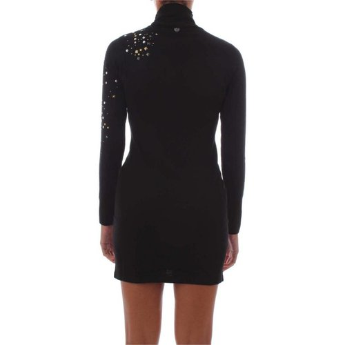 TwinSet Black Long Sleeve Dress
