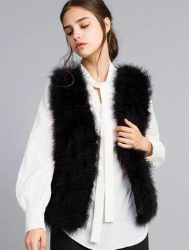 TwinSet Feather Waistcoat