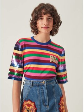 Manoush Tee Shirt Rainbow M