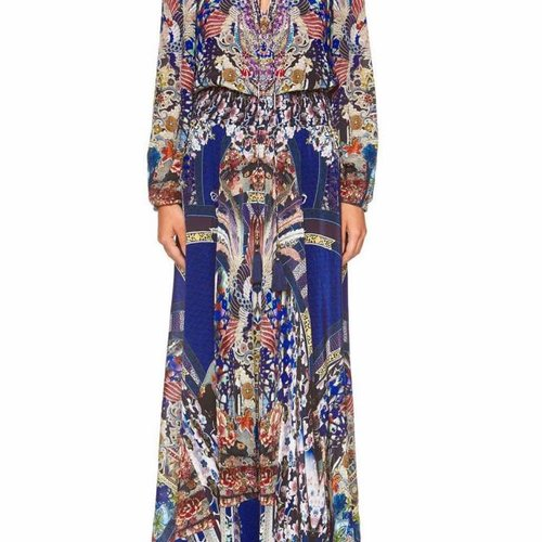 Camilla Shirred Relaxed Fit Dress