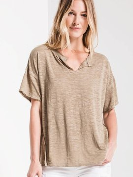 Z SUPPLY The Airy Slub Slouchy Tee