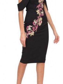 Genese Black Dress