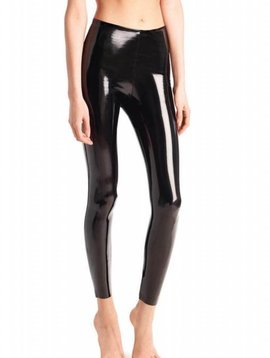 Commando Faux Patent Leather Legging with Perfect Control