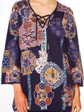 Camilla Camilla Wide Sleeve Knit w/ Tie Front